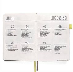 11 Easy Minimalist Bullet Journal Weekly Spreads for Busy People Minimal spreads are great for busy people. Here are sime very simple Bullet Journal weekly layouts for when you don't have time to plan.