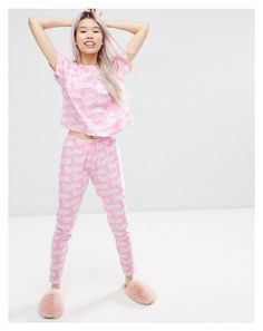 """Pjs"" by kittybarbie ❤ liked on Polyvore featuring ASOS"