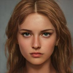 Digital Art Girl, Digital Portrait, Portrait Art, Cartoon Art Styles, Character Portraits, Character Aesthetic, Girl Face, Pretty People, Character Inspiration