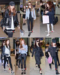 SNSD airport Fashion