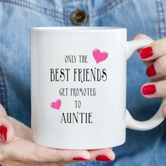 ** Friend Mugs - Great Gifts **  11 OZ CERAMIC WHITE TEA / COFFEE MUG  PRINTED USING THE LATEST SUBLIMATION PRINT TECHNOLOGY  ★ Microwave & Dishwasher Safe ★ Comes complete with Gift box.  This mug will make the perfect gift for any occasion. All mugs are handmade to order, All produced in the USA Best Friend Gifts, Gifts For Friends, Rude Mugs, Auntie Gifts, Funny Cups, Funny Birthday Gifts, Novelty Mugs, Friend Mugs, Mug Printing