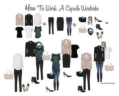 How To Work A Capsule Wardrobe by diane-howard-image on Polyvore