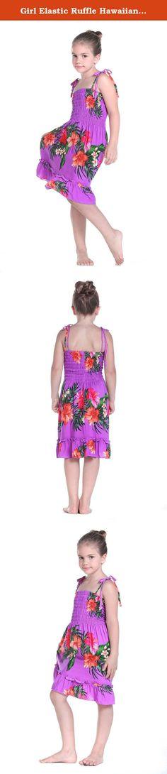 Toddler Girls Sundress PINK Bold Hawaii Flowers 2T 3T 4T SUMMER Ruffle