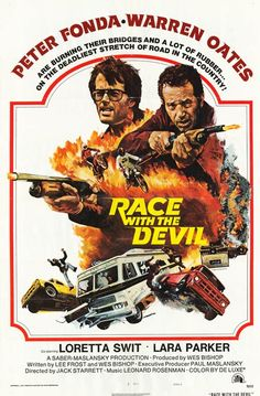 [ RACE WITH THE DEVIL POSTER ]