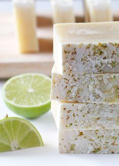 Put the lime in the coconut... DIY Coconut Lime Soap!