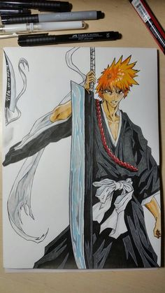 Ichigo Kurosaki by Vila78
