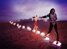 "David LaChapelle #MichaelJackson - the new one, maybe ""Billie Jean""."
