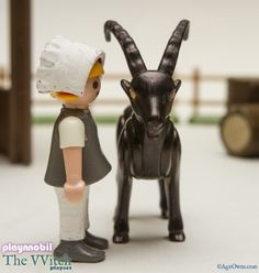 """Somehow I missed this delightful The Witch playset for kids created by Playnnobil and featured on Millionaire Playboy. It was """"released"""" to the Internet back in March and is based on Robert Eggers' 2015 historical period horror flick The Witch (or The VVitch if you prefer). Dig his Black Phillip figure!   I had mixed emotions about The Witch. While I thought that it was very beautifully shot, and well-acted, it just didn't scare the pants off me the way movie critics (and seemingly everyo..."""