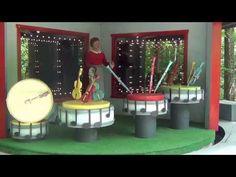 Mister Rogers Neighborhood of Make-Believe Trolley Ride at Idlewild Park 2013 HD - YouTube