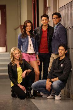 Power Rangers Mega Force Troy, Emma, Noah, Gia, Jake