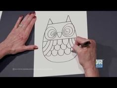 Teaching Kids How to Draw: How to Draw an Owl - Young Rembrandts