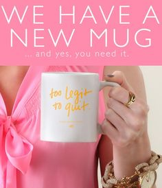 Too Legit to Quit by Ashley Brooke Designs