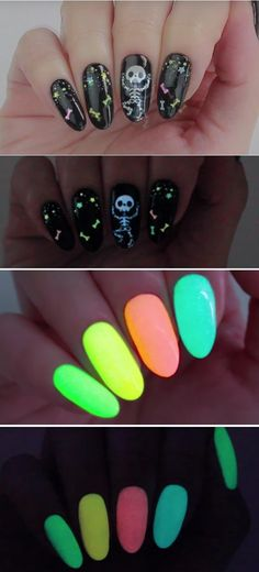 41 Super Easy Nail Art Ideas for Beginners 41 Super Easy Nail Art Ideas for Beginners Super Easy Nail Art Ideas for Beginners DIY Glow In The Dark Nail Polish Simple Step By Step DIY Tutorials And Pictures For Nailart Ideas For Every Style All Hair Trendy Nail Art, Nail Art Diy, Easy Nail Art, Cool Nail Art, Easy Art, Chrome Nails Designs, Purple Nail Designs, Nail Art Designs, Dark Nail Polish