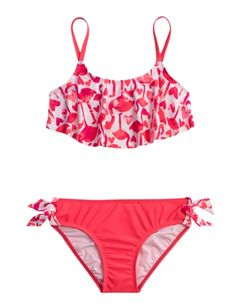 New swim is in! Shop Justice for girls' swimwear & bathing suits, all in a variety of colors & prints to match her style. Find everything from one-pieces to bikinis to tankinis. Swimsuits For Teens, Kids Swimwear, Cute Swimsuits, Cute Bikinis, Flounce Bikini, Bikini Swimsuit, Bikini Girls, Justice Swimsuits, Justice Clothing