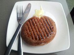 Grilled Custard Donut - Yumm..