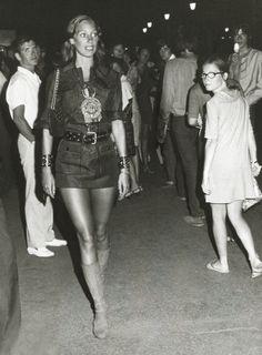 Saint Laurent safari tunic worn by Marisa Berenson, 1969