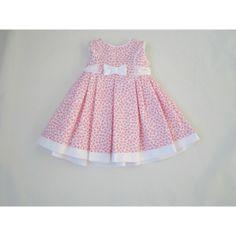 Bilderesultat for vestidos infanto juvenil nenuca Little Girl Outfits, Little Girl Dresses, Kids Outfits, Frock Design, Baby Dress Design, Baby Girl Fashion, Kids Fashion, Dress Anak, Baby Frocks Designs