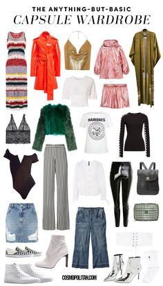 How to Create an Anything-But-Basic Wardrobe With Less than 30 Pieces - Cosmopolitan.com