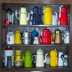 French drip coffee pots