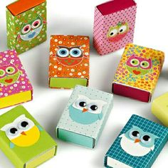 Match box decoration with what you want. I use them as a small gift box!