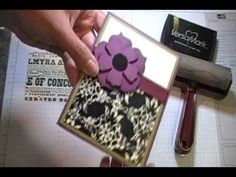 Double Embossing - Stampin' Up! Tutorial - YouTube