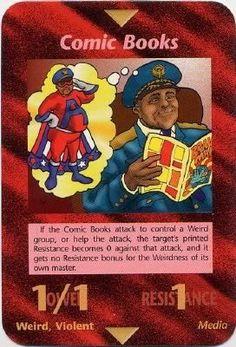 Illuminati Card Game - Comic Books