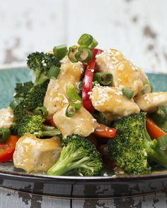 Healthy Orange Chicken Stir-Fry