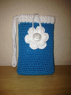 Crochet Cell Phone Case/Cozy by AngelicCreatBoutique on Etsy