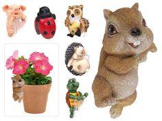 Figura animal para colgar en maceta 9cm.6ass Comprar Oferta Barato Tienda Online