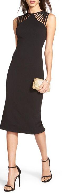 'Gwen' Knit Midi Dress