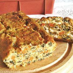 Plum-cake salato zucca, spinaci Provolone Valpadana D.O.P.