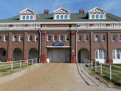 Coliseum at the Missouri State Fair, Sedalia, MO I ride (my horse) and team pin here during the fair!-mattie