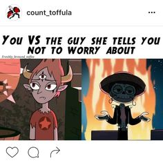 Haha, Marco is just awesome... Star vs the forces of evil