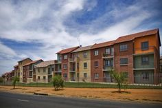 Hlanganani Social Housing in Cosmo City, South Africa (I've been here too!-KI )