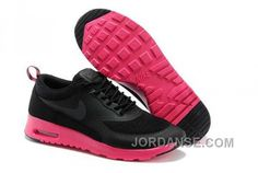 https://www.jordanse.com/nike-air-max-thea-womens-black-pink-213443.html NIKE AIR MAX THEA WOMENS BLACK PINK Only 79.00€ , Free Shipping!