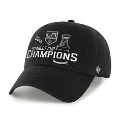 low priced ce0e2 ff3b1 Los Angeles Kings 47 Brand 2014 NHL Stanley Cup Champions Adjustable Hat Cap  Chicago Blackhawks,