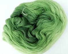 Green Grass - Hand Dyed Gradient Yarn