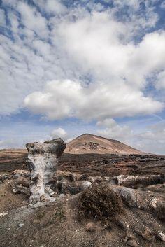 Landscape of #Lanzarote, #CanaryIslands - www.gdecooman.fr