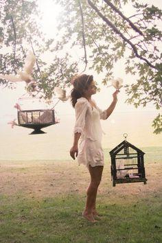 Birdcage girl