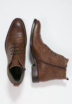 Boots & Bottes Pier One Bottines à lacets - cognac cognac: 80,00 € chez Zalando (au 03/03/16). Livraison et retours gratuits et service client gratuit au 0800 740 357.