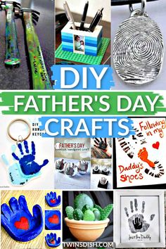 Diy Father's Day Gifts From Toddler, Kids Fathers Day Gifts, Diy Father's Day Gifts Easy, Diy Father's Day Crafts, Easy Fathers Day Craft, Great Gifts For Dad, Father's Day Diy, Crafts To Make And Sell, Diy Crafts For Kids