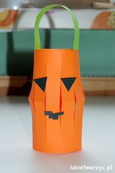 Nursery School, Halloween, Lanterns, Pumpkin, Paper, Handmade, Crafts, Education, Decor