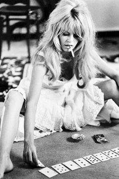 Brigitte Bardot photographed by Douglas Kirkland during the filming of Viva Maria, 1965.