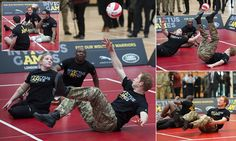 Prince Harry launches British version of US Paralympic style games for injured war heroes: 'It was such a good idea by the Americans - we nicked it' #DailyMail