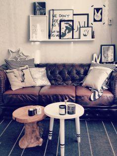 Woonkamer van een klein huurhuisje - Interieur - ShowHome.nl