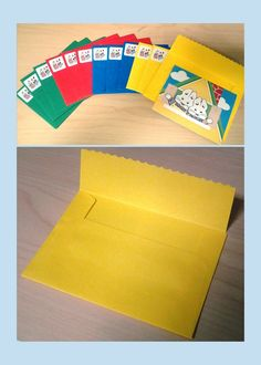 Max and Ruby Birthday Party Invites with Envelopes (envelopes made from 8 x 11 color paper)