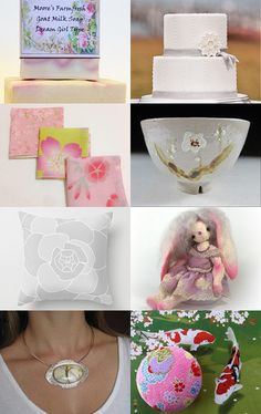 The world is turning pink... by Chizuko Takahashi on Etsy--Pinned with TreasuryPin.com