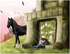 Shadow of the Colossus by Hani7 on DeviantArt