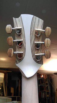 Bass Guitar - Always Aspired To Learn Guitar? Guitar Neck, Guitar Body, Guitar Art, Music Guitar, Cool Guitar, Ukulele, Guitar Inlay, Banjo, Basic Guitar Lessons