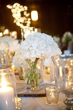 low centerpiece and incorporating outdoor elements